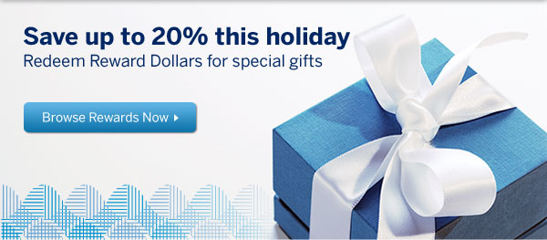 Use Blue Sky points for gifts. Enjoy savings on gift cards and more.