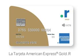 La Tarjeta American Express® Gold .R