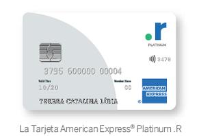 La Tarjeta American Express® Platinum .R