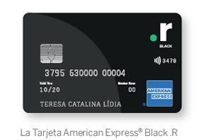 La Tarjeta American Express® Black .R